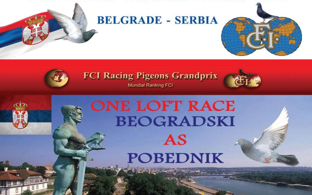 FCI World Championship Belgrade-Serbia