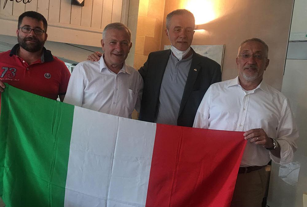 Mr. Istvan Bardos, Mr Matteo Grappa, Mr. Adelmo Bonvicini, Mr.Alessandro Mario Segnini Bocchia di San Lorenzo  had a meeting in  Turin, Italy
