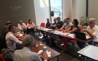 Director Committee and Sport Committee in Budapest on July 31, 2021